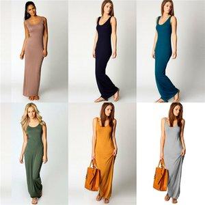 Yellow Dress Summer Slash Neck Long Casual Dresses Vestidoes Clothes Women Boom Designer #764