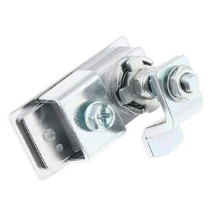 Trailer RV Travel entrada da porta de compressão prata bloqueio Paddle Latch- Zinc Aluminum