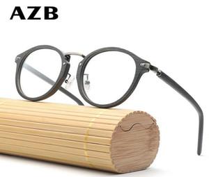 Erkekler ve kadınlar 5105 oculos de grau feminino masculino optik reçete gözlük çerçevesi Gözlükler için Marka Tasarımcı okuma gözlükleri çerçeve