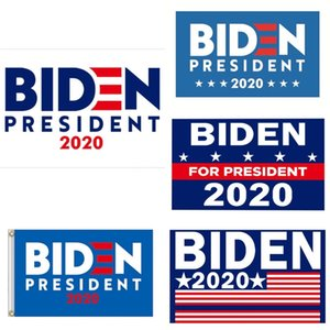 Biden 2020 Flag Sticker Set Donald Presidente Corpo de carro adesivos Mantenha a tornar a América Grande Partido Home Decor bandeira 5111 # 615
