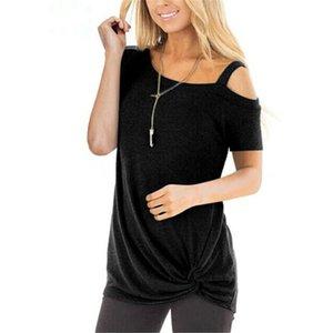 Frauen Blusen Kurzarm Bluse Schulterfrei Damen Tops und Blusen beiläufige Damen Kleidung Female Shirt Spitzenbluse