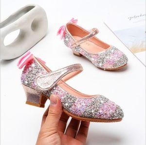 أحذية الأميرة للبنات لطيف أحذية الرياضة وفتاة طفل عارضة أحذية ليتل جدي رياضة مرنة الشتاء الاطفال الأحذية للعام الجديد مجاني Shippi