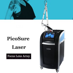 Professionnel picoseconde Laser Pigment Picosure Lazer Machine taches pigmentation retrait 755nm focus lens Array Picoway Pico Laser Équipement