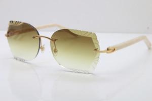 Hersteller Großhandel 8200762A draußen C Design und Dekoration 2020 heißen Verkauf Halbrahmen-Sonnenbrille neue Art und Weise klassische Brille fahren