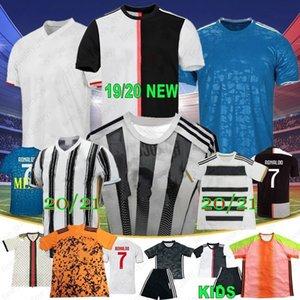 2020 2021 Quatrième RONALDO PALACE JUVENTUS Maillots 19 20 JUVE Domicile Extérieur de Ligt Dybala HIGUAIN BUFFON Hommes Enfants Football