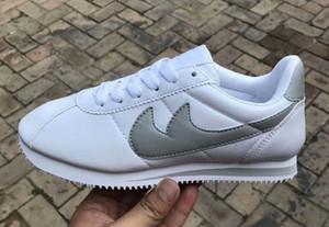 Heiße neue Marken Freizeitschuhe Männer und Frauen Cortez Schuhe Freizeit Shells Schuhe Leder Mode Outdoor Sneakers Größe 36-45
