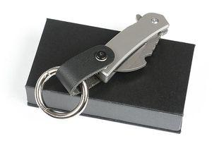 Распродажа! Мини Малого Керамбит лапка Складного нож D2 Stone Wash лезвие TC4 титановый сплав ручка с Инструментами для ремонта