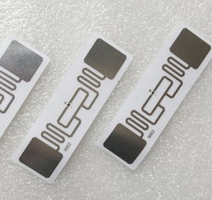 RFID STICKER UHF AZ 9662 H3 Chip ISO 18000-6C 915MHz Passive RFID UHF Sticker 73*23mm Read Range 6m-8m 1000pcs