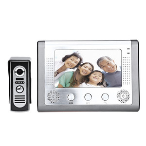 SY801M11 7 pulgadas Pantalla TFT Manos libres Video Interfono Timbre de la puerta Intercom