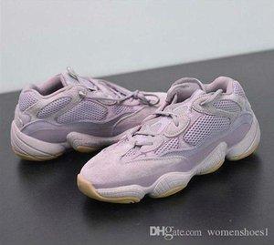 2020 New Designer 500 Soft Vision Running Shoes Kanye West Purple Wave Runner Fashion Look Spoyezzysyezzyboost350v2