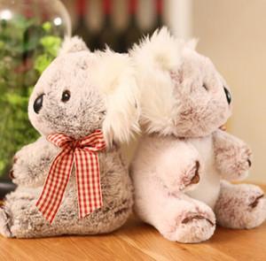 Real silk scarves koala plush toys for girls birthday gifts cute koala dolls boutique gifts wholesale 02