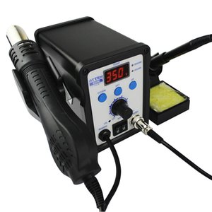 ATTEN AT8586 2 1 Ekonomik 750 W 110 V / 220 V Gelişmiş Sıcak Hava Lehimleme İstasyonu SMD Rework Station