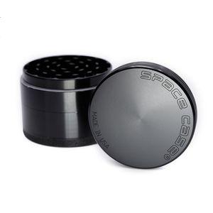 DHL frei Space Case Tabakmühlen 63mm 4 Stück Grinder Cursher Aluminiumlegierung Space Grinder Rauchzubehör 5920SC