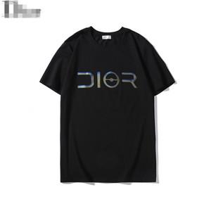 2019 Nouveau Solide Impression Laser Hommes Designer T-Shirts Awsome De Luxe Grand D Pull À Manches Courtes Top Marque De Mode Blouses Casual O Cou B100075L