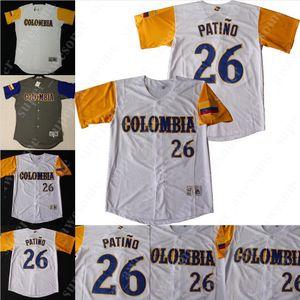 Colombie Baseball Jersey Oscar Mercado Julio Quintana Jose Téhéran Jorge Alfaro Tito Polo Giovanny Urshela Donovan Solano Adrian Sanchez