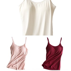 No steel ring with chest pad comfortable women yoga small Shirt vest camisole base shirt large size Sports small vest