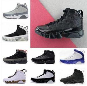 9 выведенные мужчины баскетбольная обувь 9s IV 9 Черный Антрацит университет красный спортивная обувь город полета кроссовки высшего качества легкая атлетика бесплатная доставка