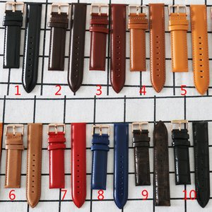 20mm Echtes Leder Uhrenarmbänder Bügel-Gurt für 40mm-Mann-Uhr