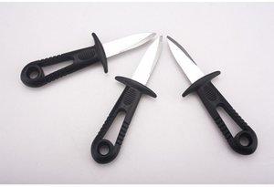 Oyster нож с открытия Guard Гребешки открывалка для морепродуктов Shell Многоцелевой Разожмите ножи Открыть устриц и ракушек напрямую