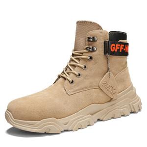 Осенью и зимой Мартин сапоги мужские с высоким вырезом оснастки обувь, чтобы помочь тенденции мужских сапог британский ветер пустыни сапоги