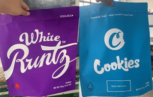 Neueste Plätzchen Runtz Tasche Weißer Witzes UP! 1 Pound 16OZ Big Proof Mylar-Beutel Fastfood- Beutel Verpackung Beutel Paketqualität