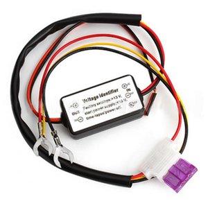 Dragonpad 12-18V DRL Controlador Auto Car LED luzes diurnas Relé Harness Dimmer Switch Controlador de Luz