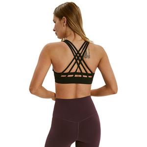 Energie Sport-BH Crop Top Yoga LU Womens Designer-T-Shirts Gym Vest Workout Bra Frauen Tücher Tank Top Größe XS-XL