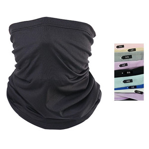 Summer Neck Scarf Cycling Hiking Scarves Ice Fabric Breathable Bicycle Bandana Headwear Sun Protection Fitness Sports Bike scarf