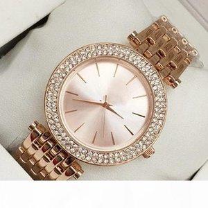 2018 New model Fashion Women watch With diamond Stainless steel Lady Brand Luxury wristwatch brand table Clock Quartz Relojes De Marca Mujer
