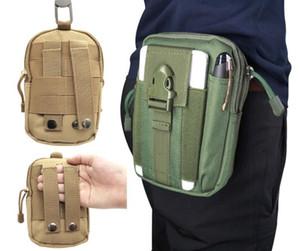 Designer-Tactical Molle Hip Multifunktions-Taschen Outdoor-Camping-Climbing-Tasche Sport Gürtel Wallet Lauf Beutel-Geldbeutel-Telefon-Kasten