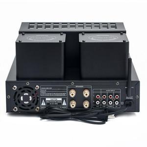 Freeshipping M12 Hi-Fi 4.0 Bluetooth Vakum Tüpü Amplifikatör USB SD Güç Amplifikatörü Destekler