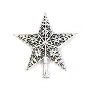Christmas Tree Top Sparkle Sterne Hang Weihnachtsdekoration Ornament Treetop Topper Weihnachten liefert Weihnachtsbaum Dekor #E