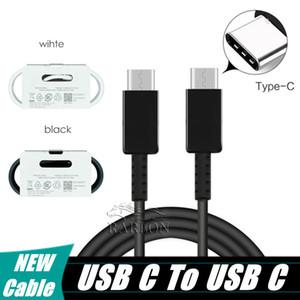 NEW Tipo C a USB Cavi C cavo del caricatore carica rapida per Type-C Dispositivi di ricarica veloce cavo per Samsung Galaxy Note 10 Plus S20 Ultra Huawei