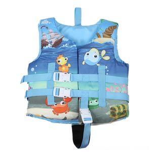 Karikatür Çocuk Life Fitness Ekipmanları Spor Malzemeleri Ceket Buoyancy Yelek Sevimli Bebek Yüzer Suit Yüzme Köpük Bant Emniyet Toka Env