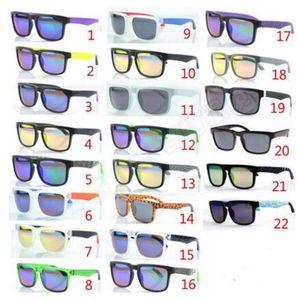 العلامة التجارية مصمم نظارات الشمس التجسس كين بلوك هيلم نظارات الرجال النساء للجنسين الرياضة في الهواء الطلق نظارات مكبرة الإطار الكامل 22 الألوان