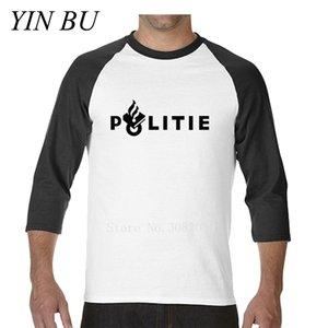 2019 новая мужская футболка Нидерланды Politie Police Clothing графические тройники круглый воротник с длинным рукавом мужская футболка S-2XL Dropshipping