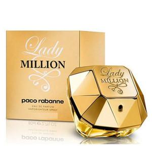 Top Luxury RABANNE 1 Million / Parfum Femmes 80ml Santé Beauté Encens Rabanne Million avec Longue Durée Durée Bonne Odeur Haute Qualité CADEAU