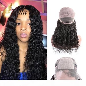 Silk Top Full Lace Wig Human Hair Wigs for Black Women Natural Water Wave Brazilianhair Full Hand Tied Wigs with Silk Base