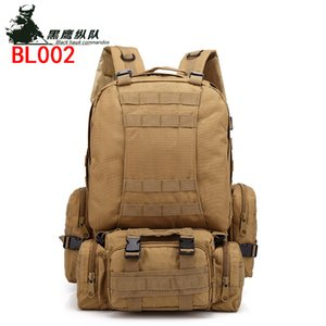 Multi-functional Tactical Mountaineering Bag Outdoor Camouflage Backpack Pack Travel Bag