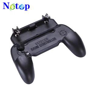 Netop W11 + Cep Gamepad oyun kolu cep telefonu shell kılıf gamepad tutucu joystick yangın tetik hepsi bir arada için pubg