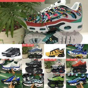 2020 Nuovo TN SCARPE nuovo disegni superiori di Og TN Uomini Mesh traspirante Chaussures Homme Tn Requin Inoltre lusso da jogging Casual scarpe da tennis 40-46