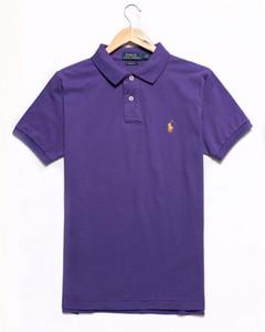 Designer Polo Hommes Femmes À Manches Courtes London Fashion Broderie Polo Shirt Mens Loose Polo Shirt de Haute Qualité Couleur Unie