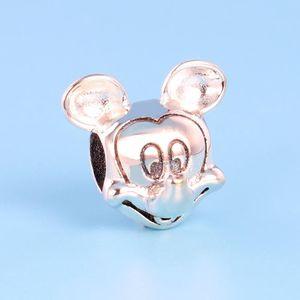 YENI Klasik Yüksek kalite 925 Ayar Gümüş Charm Seti Pandora Takı aksesuarları için Orijinal Kutusu Bilezik Boncuk Charms