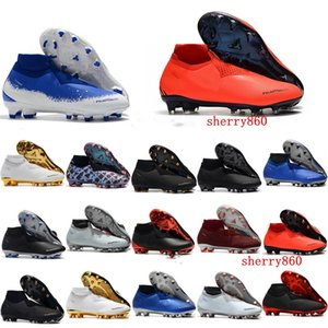 2019 erkek futbol ayakkabıları Phantom VSN Gölge Elite DF AG-PRO futbol krampon Oyun Bitti krampon scarpe da calcio