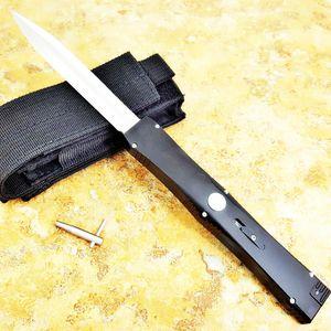 Inimigo IV D2 lâmina T6-6061 acção único cetim fixa da lâmina de dobragem de bolso faca xmas faca presente BOLSO TOOL