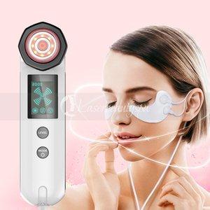 좋은 홈 사용 무선 주파수 피부 강화 피부 굳게 진동 마사지 LED 빛 광자 눈 관리 눈 느슨한 RF 장치