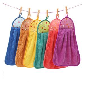 منشفة مصنعين الجملة المرجان الصوف لطيف الكرتون شنقا منشفة منشفة هانغ أطفال نوع سميك امتصاص الماء مخصص