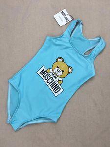 2020 été un maillot de bain d'ours maillots de bain des filles pour bébés -piece drôle enfants vêtements de plage