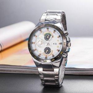 2020 Hot High quality New designer watches brand Luxury Fashion Man Watch Quartz Steel belt Watch calendar function Free shipping