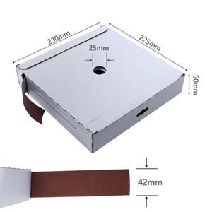 Scatola Di Carta Vetrata 50m Abrasive Paper Sandpaper Polishing Grinding Tape Box For Metal Glass Wood